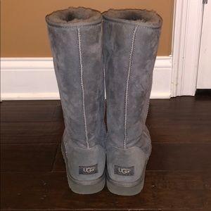 Tall Grey Ugg Boots